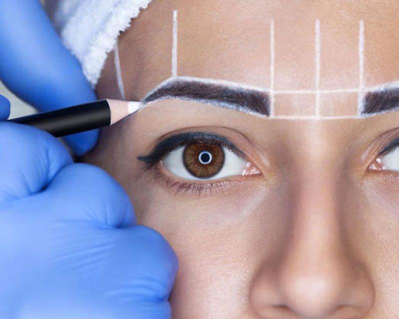 curso de diseño de cejas depilación & tinting de glam perception en miramar florida