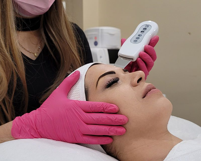 cursos de protocolo de limpieza facial de glam perception en miramar florida